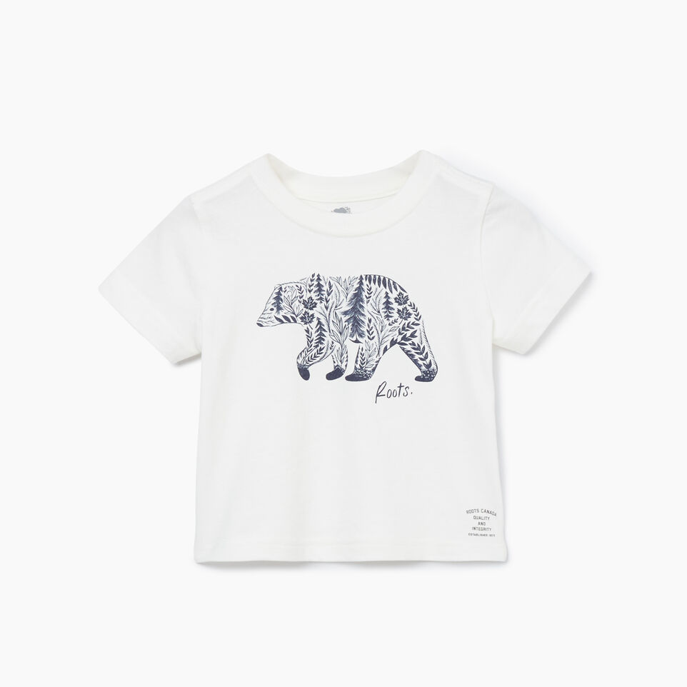 Roots-undefined-Baby Woodland Animal T-shirt-undefined-A