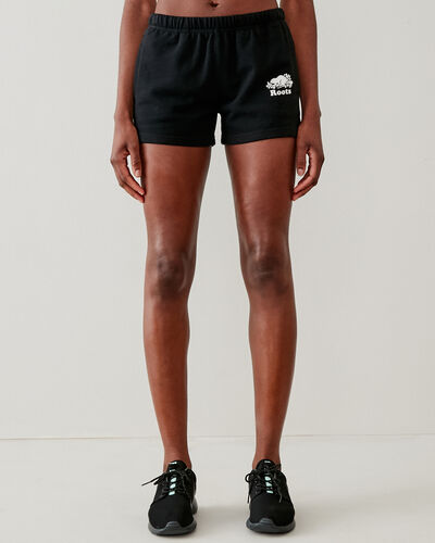 Roots-Shorts Women-Original Sweatshort 3.5 In-Black-A