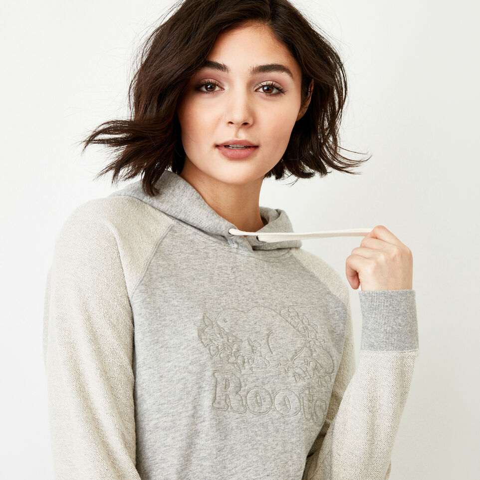 Roots-Women Our Favourite New Arrivals-Weymouth Hoody-Grey Mix-E