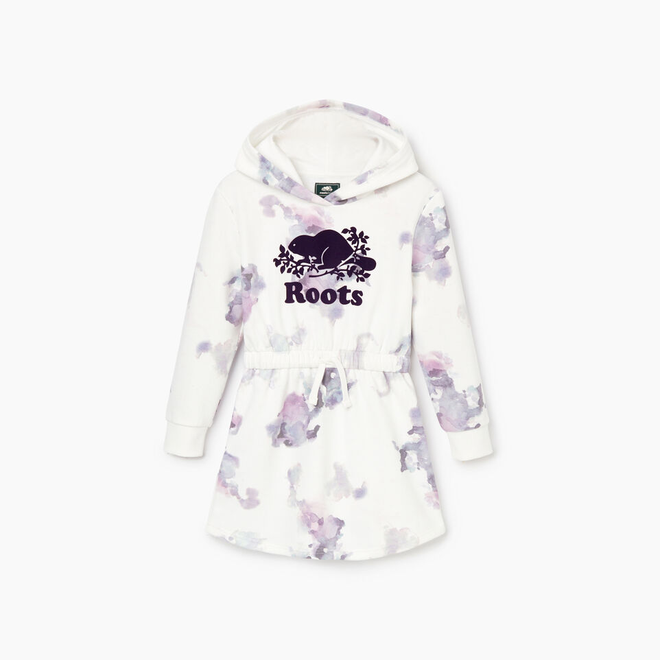 Roots-undefined-Girls Cooper Beaver Hoody Dress-undefined-B