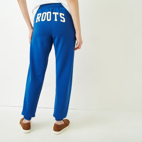 Roots-Women Categories-Original Boyfriend Sweatpant-Active Blue-A