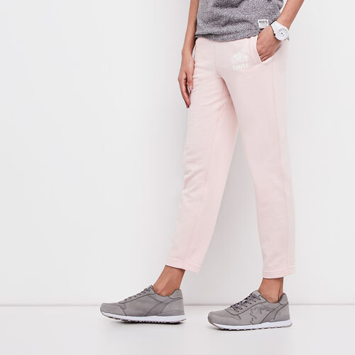 Roots-Women Sweatpants-Easy Ankle Sweatpant-English Rose Pepper-A
