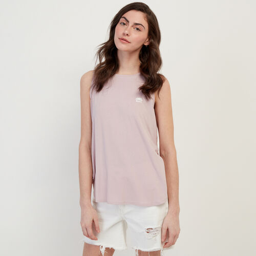 Roots-Women Clothing-Bonita Tank Top-Burnished Lilac-A
