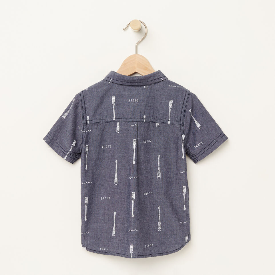 Toddler chambray utility shirt roots for Chambray shirt for kids