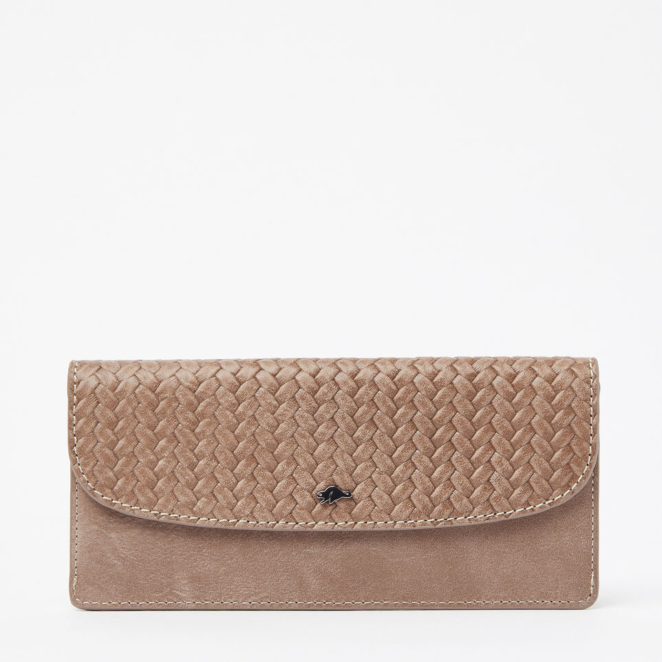 Roots-undefined-Slim Curve Wallet Woven Tribe-undefined-A