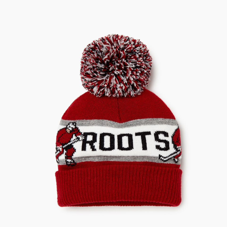 Roots-Sale Kids-Toddler Hockey Toque-Red-A