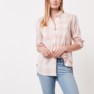 Roots-Femmes Chemisiers-Chemise New Brookside-Rose Velouté-A