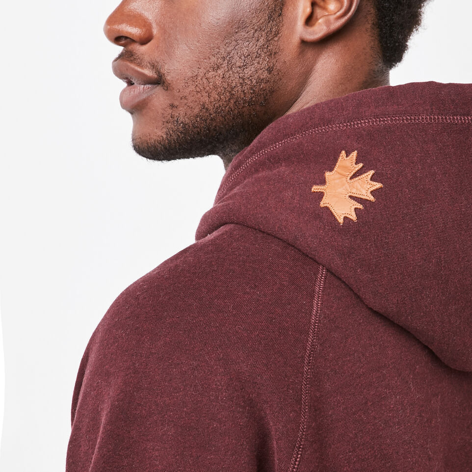 Roots-undefined-Original Leather Logo Hoody-undefined-F