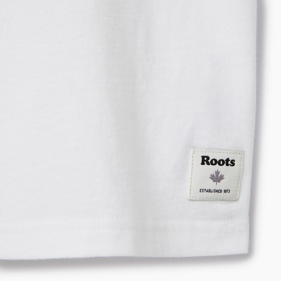 Roots-Kids Our Favourite New Arrivals-Boys Roots Paddle T-shirt-Ivory-C