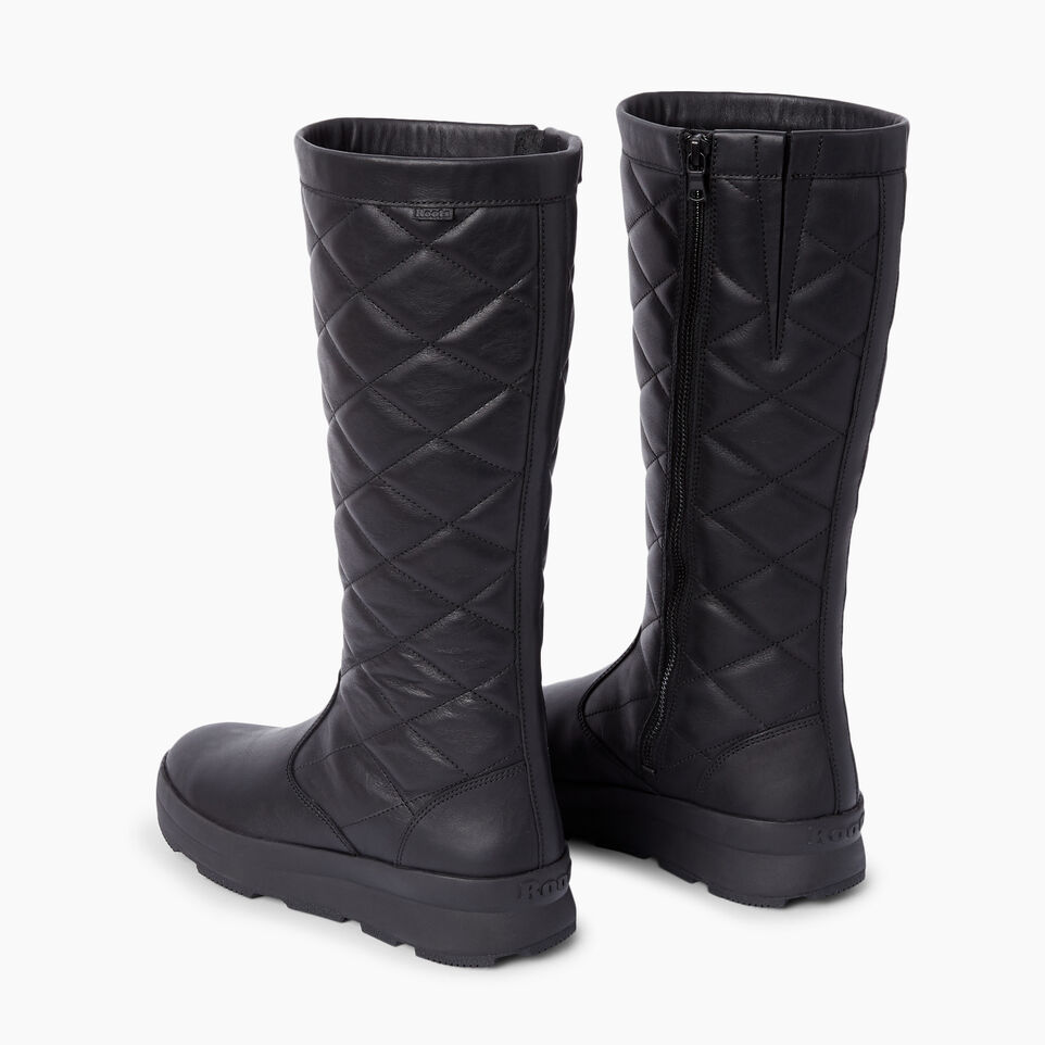 Roots-Clearance Footwear-Womens Laurentian Winter Boot-Black-E