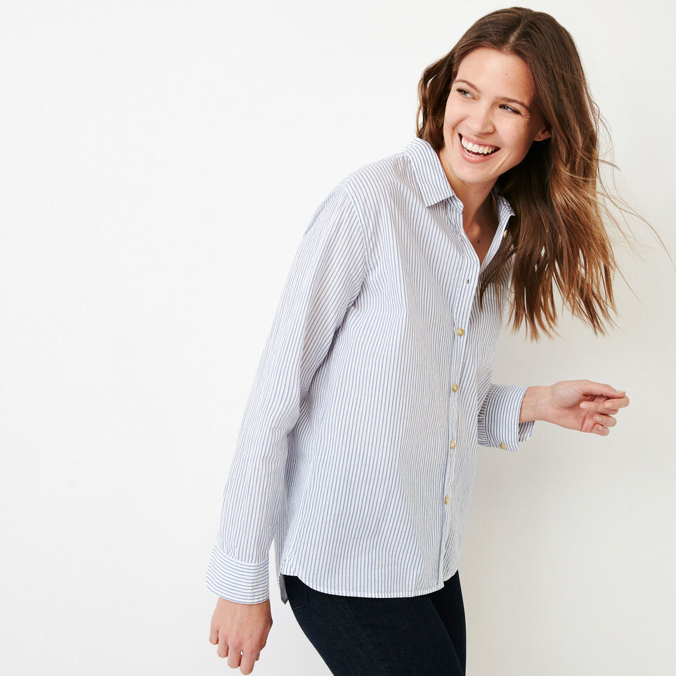 Roots-undefined-Relaxed Striped Shirt-undefined-C