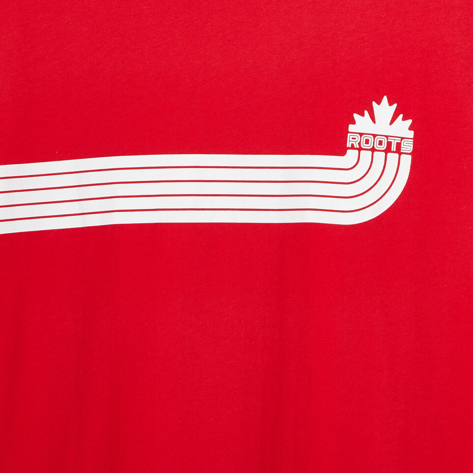 Roots-undefined-Mens Canada Sport T-shirt-undefined-D