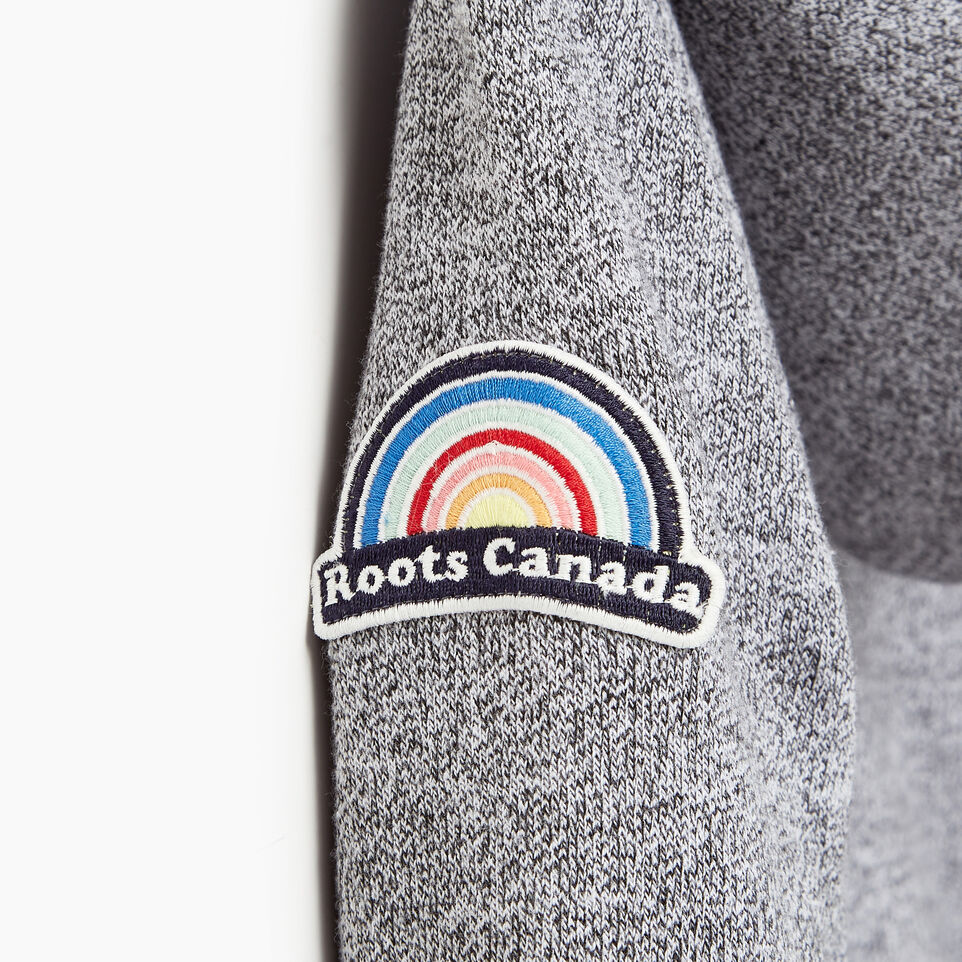 Roots-Kids Our Favourite New Arrivals-Girls Patches Full Zip Hoody-Salt & Pepper-E