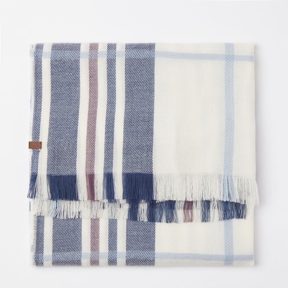 Roots-undefined-Labrador Plaid Scarf-undefined-A