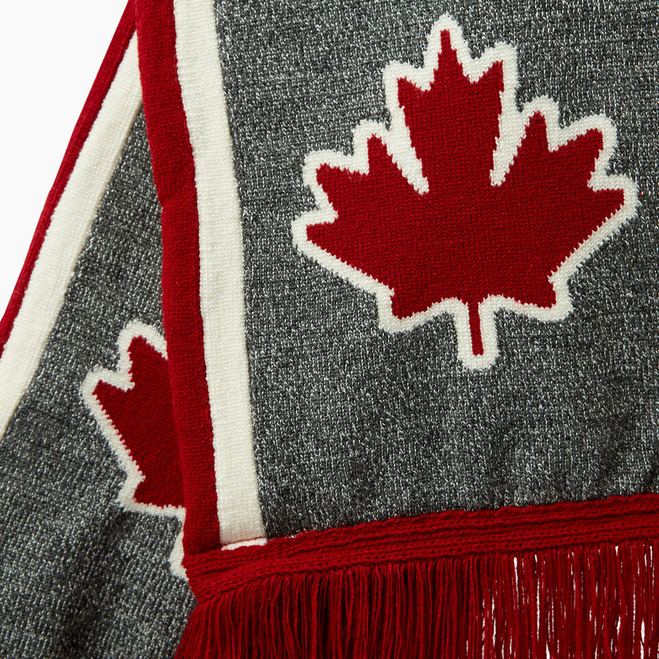 Roots-Men Canada Collection By Roots™-Canada Fan Scarf-Red-D