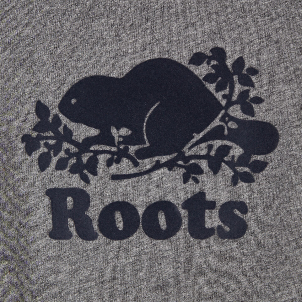 Roots-Kids Our Favourite New Arrivals-Baby Original Cooper Beaver T-shirt-Medium Grey Mix-C