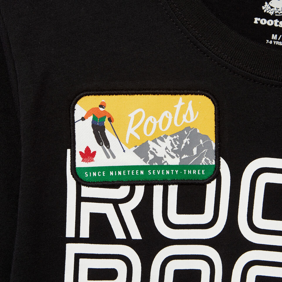 Roots-undefined-Boys Ski Patch T-shirt-undefined-C