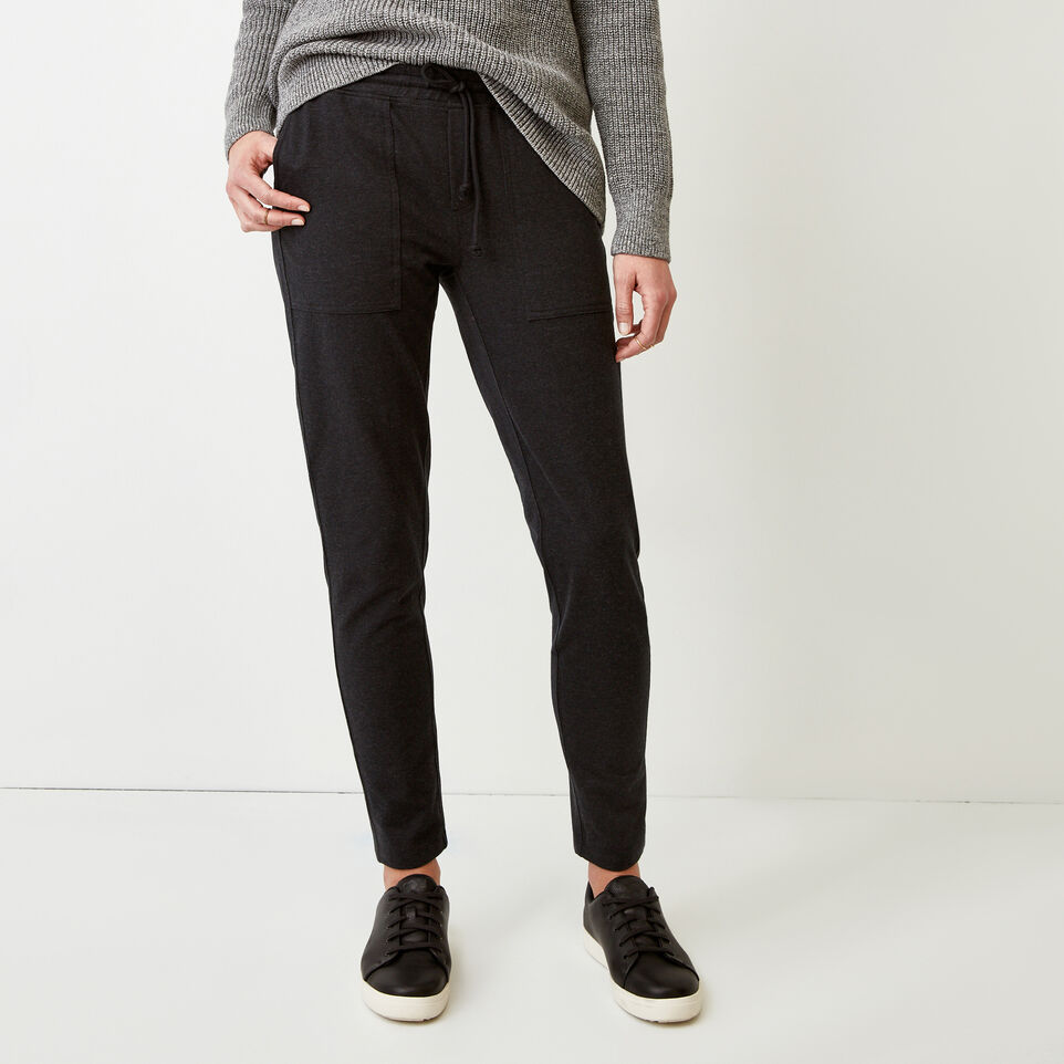 Roots-Women Our Favourite New Arrivals-Kelby Jogger-Black Mix-A
