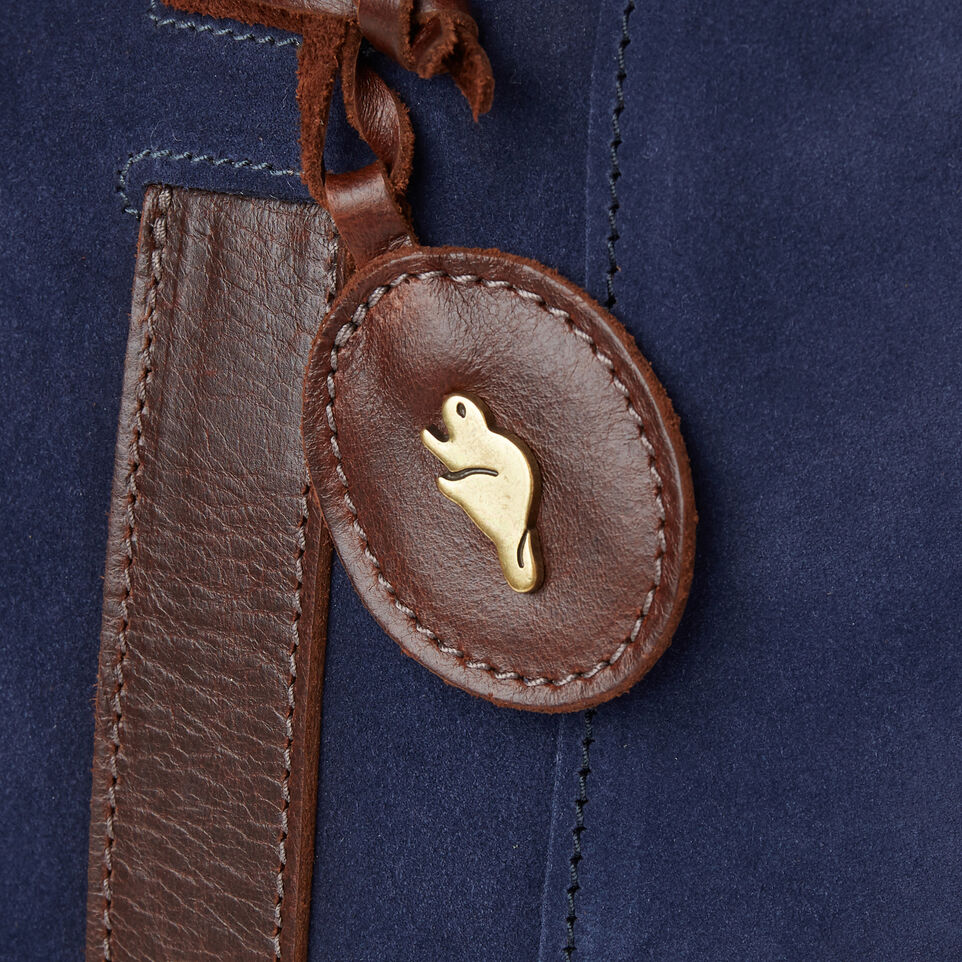 Roots-Leather New Arrivals-Victoria Tote Suede-Navy-E