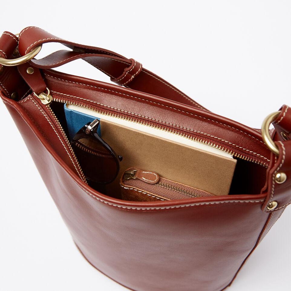 Roots-Winter Sale Leather-Feed Bag Heritage-Oak-E