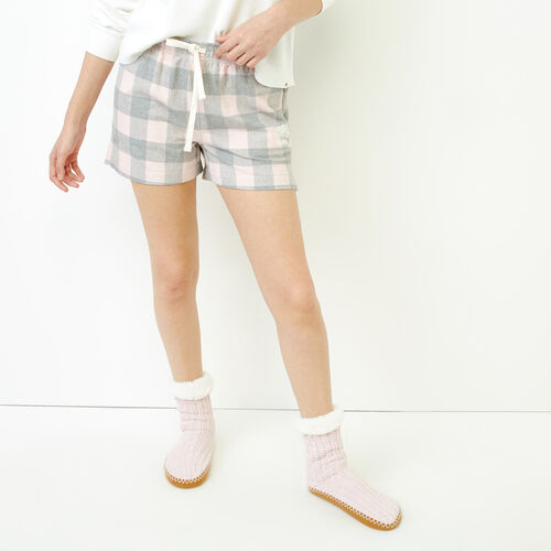 Roots-Women Our Favourite New Arrivals-Inglenook Lounge Short-Pink Mix-A
