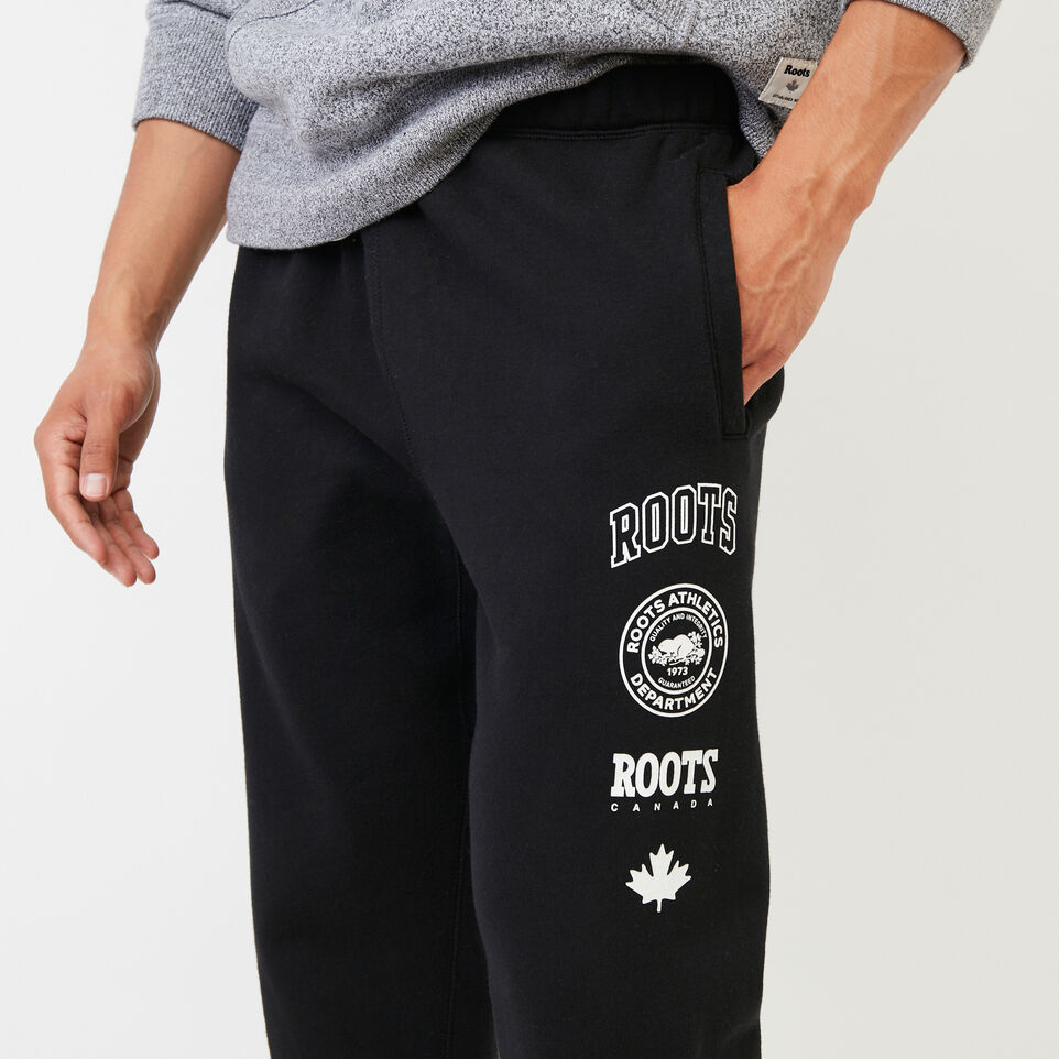 Roots-undefined-Stamps Slim Sweatpant-undefined-E