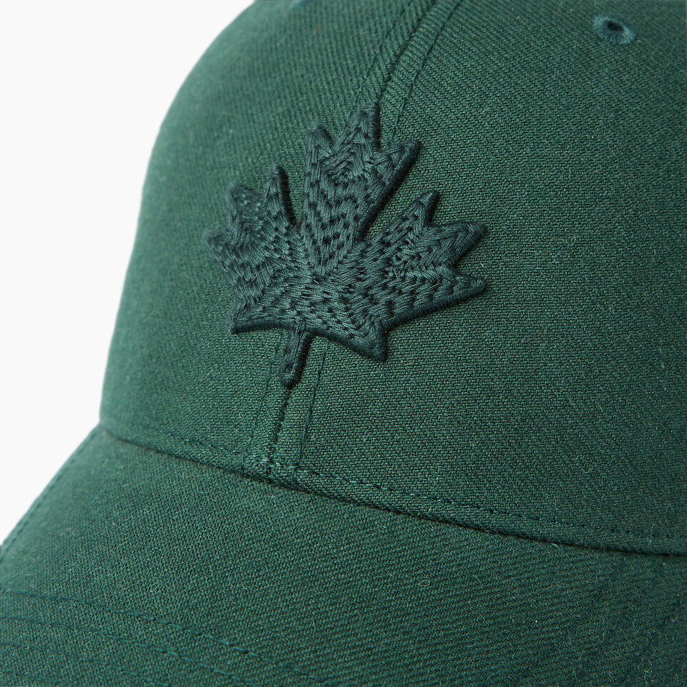 Roots-Men Our Favourite New Arrivals-Modern Leaf Baseball Cap-Park Green-D