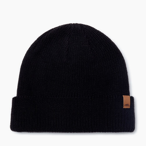 Roots-Men Accessories-Hamilton Toque-Black-A