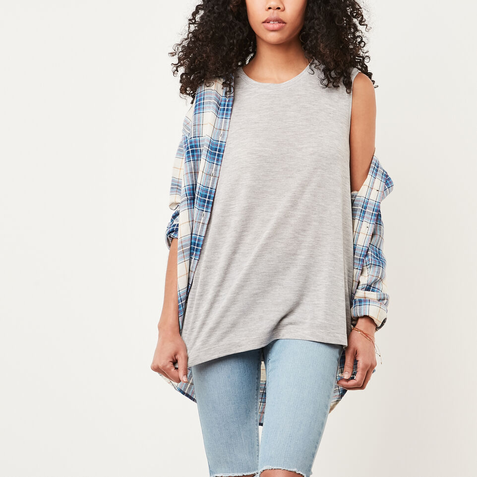 Roots-Abbey Slit Top