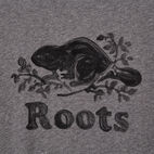 Roots-Men New Arrivals-Mens Springdale T-shirt-Med Grey Mix-D