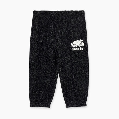 Roots-Kids Bottoms-Baby Original Sweatpant-Black Pepper-A