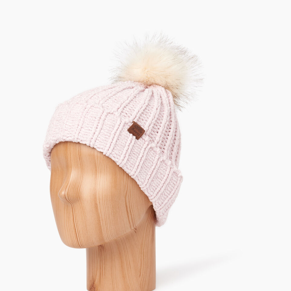 Roots-Kids Our Favourite New Arrivals-Kid Girl Chenille Toque-Fragrant Lilac Ppr-B