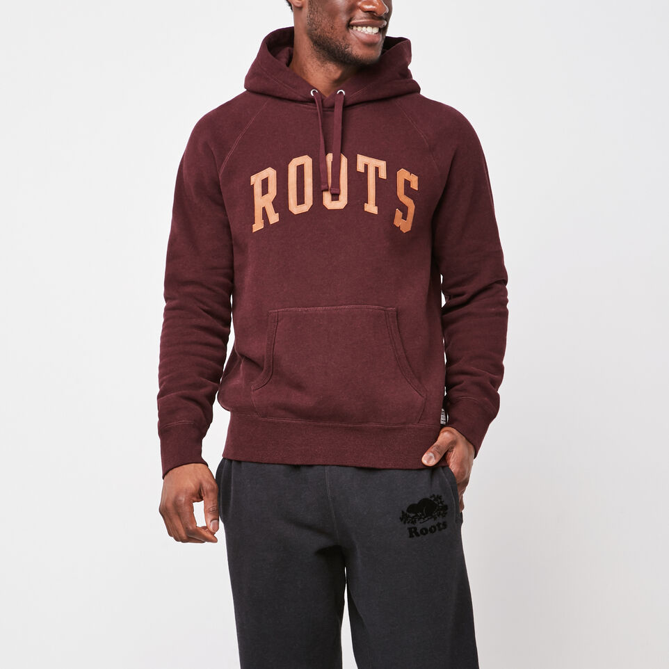 Roots-undefined-Original Leather Logo Hoody-undefined-A