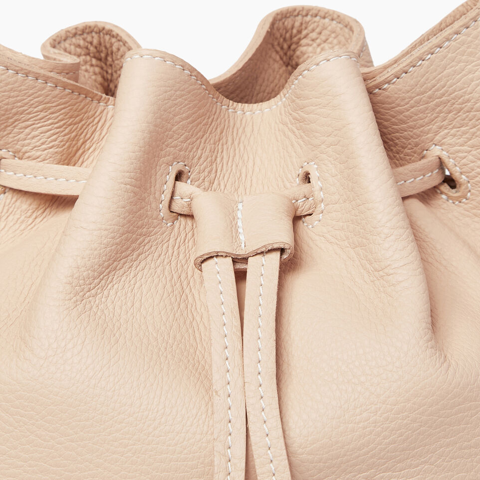 Roots-Leather  Handcrafted By Us Our Favourite New Arrivals-Sherbrooke Bucket-Pink Mist-E