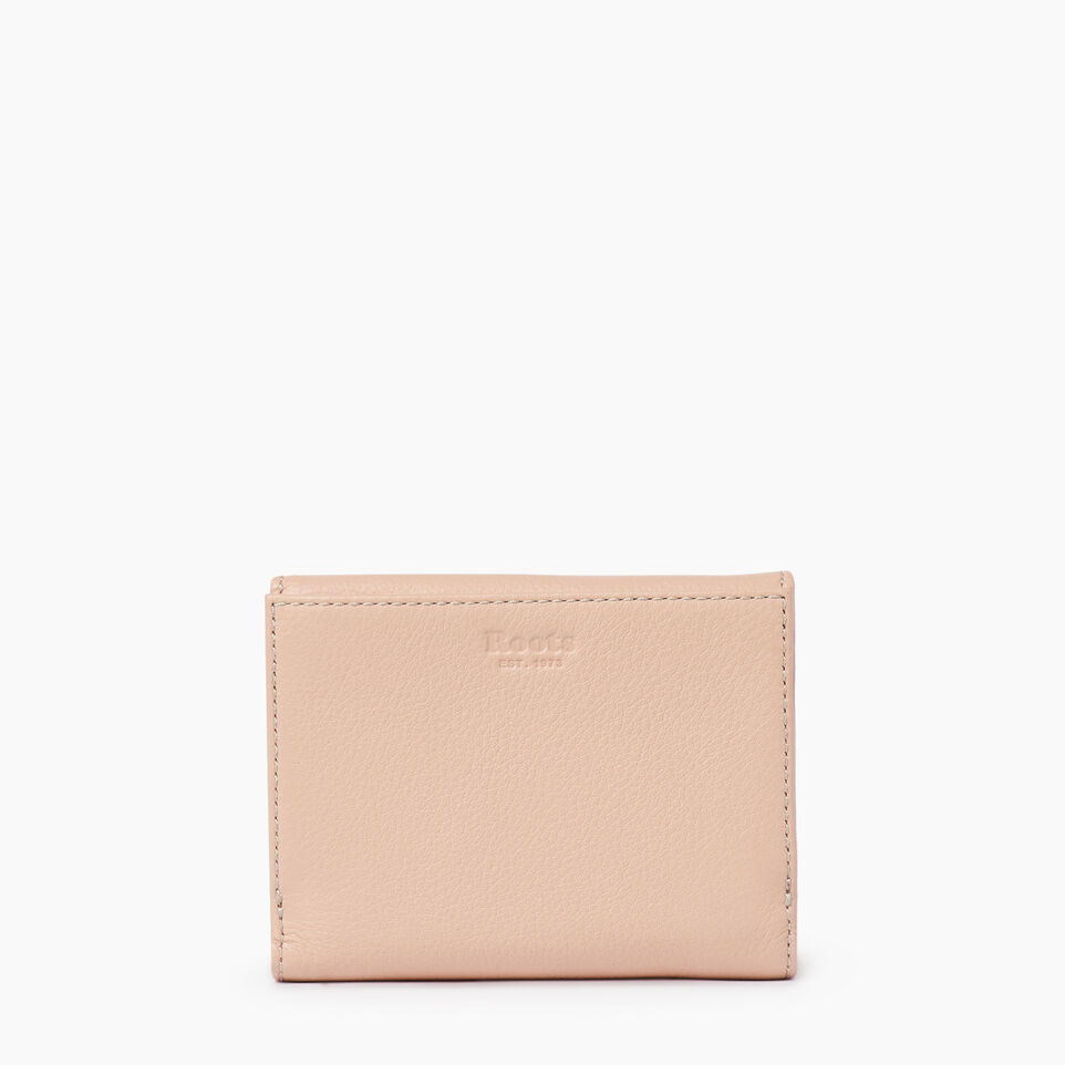 Roots-Leather  Handcrafted By Us Our Favourite New Arrivals-Riverdale Wallet-Pink Mist-B