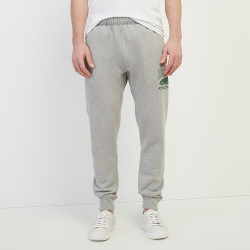 Roots-Men Bestsellers-RBA Park Slim Sweatpant-Grey Mix-A