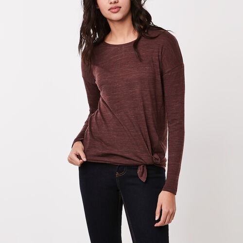 Roots-Sale Tops-Farrington Top-Wild Ginger-A