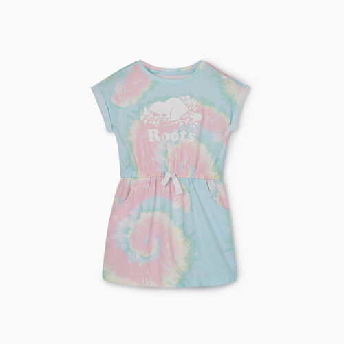 Roots-Kids Dresses-Toddler T-shirt Dress-Multi-A