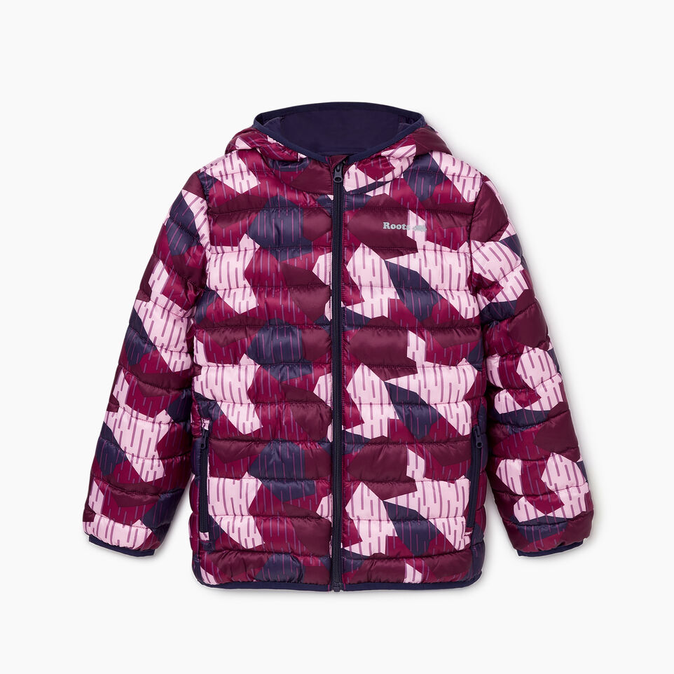 Roots-undefined-Girls Roots Camo Puffer Jacket-undefined-B