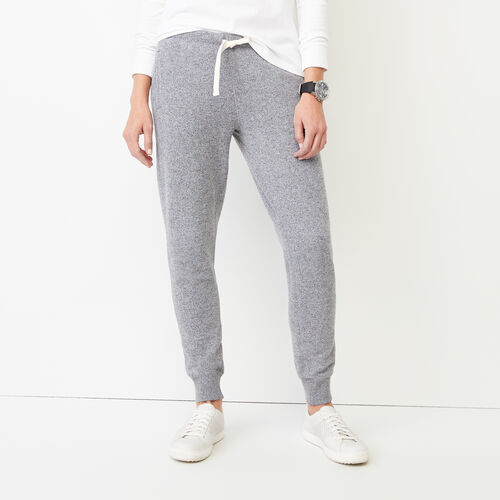 Roots-Women Slim Sweatpants-Cozy Slim Cuff Sweatpant-Salt & Pepper-A