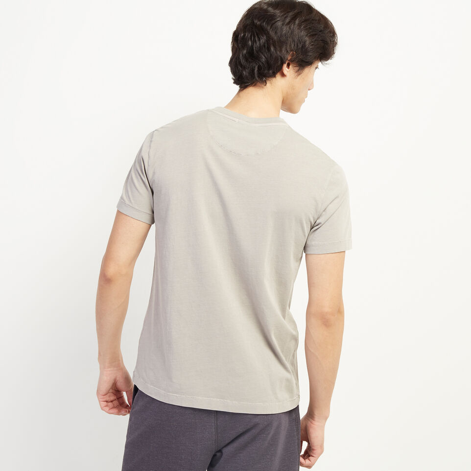 Roots-undefined-Essential V-neck T-shirt-undefined-D