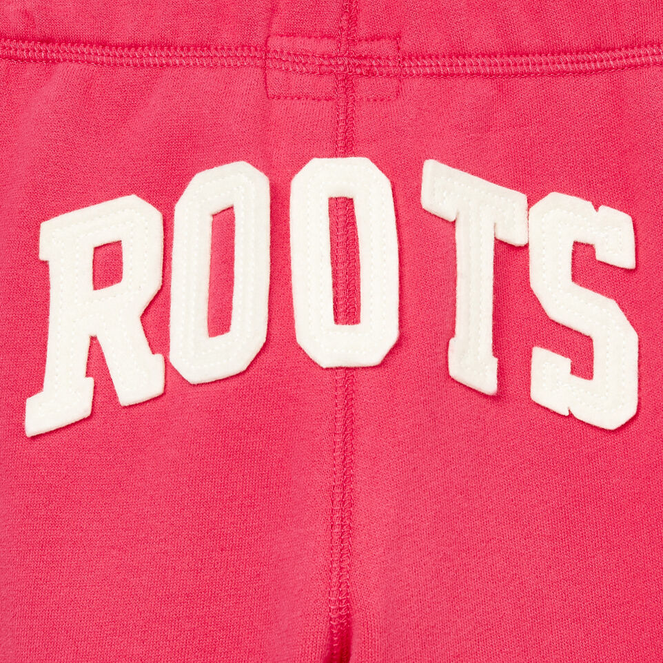 Roots-Kids Our Favourite New Arrivals-Girls Original Roots Sweatpant-Pink Flambã‰-E