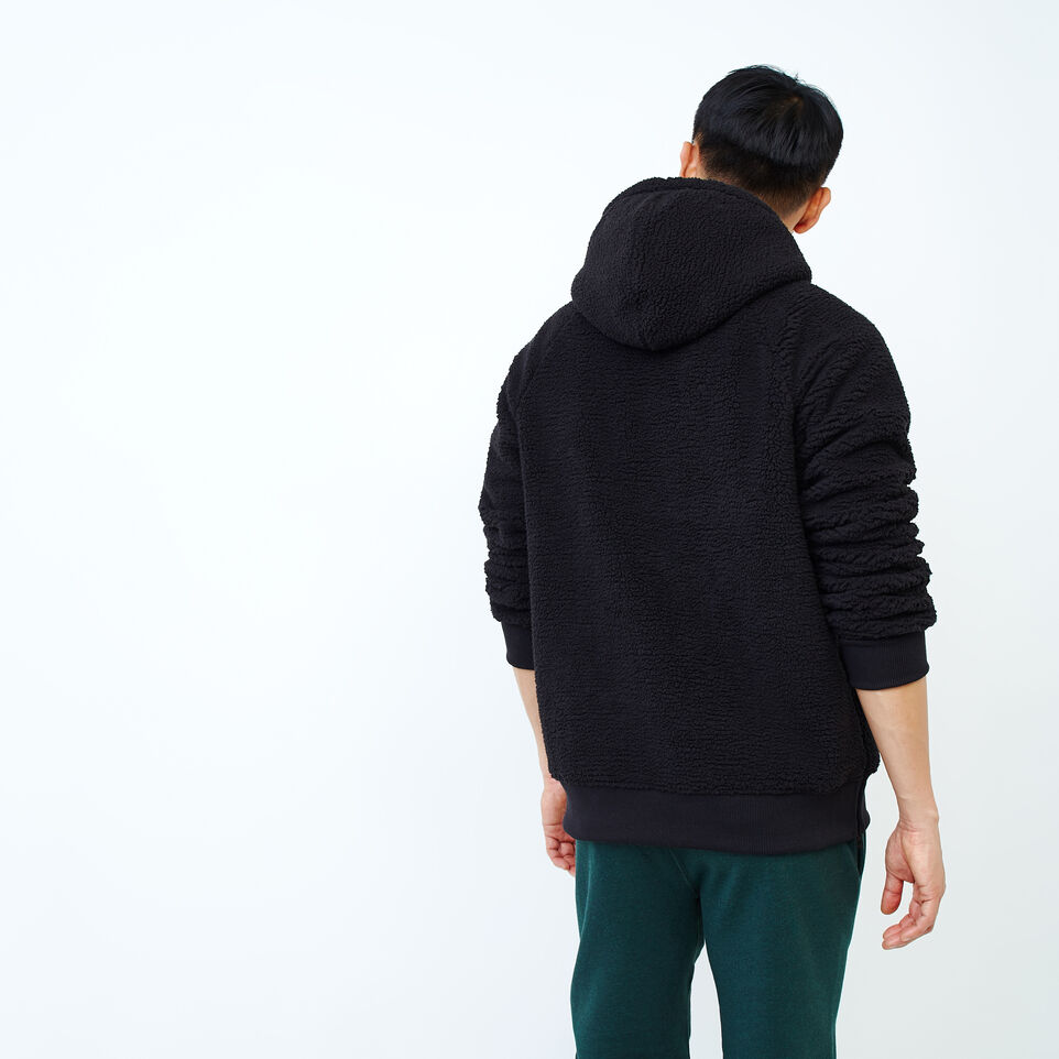 Roots-Men Our Favourite New Arrivals-Roots Sherpa Hoody-Black-D