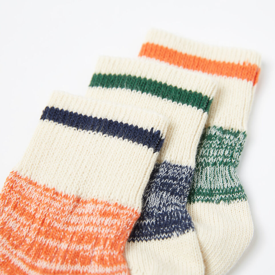 Roots-undefined-Kids Park Ankle Sock 3 Pack-undefined-D