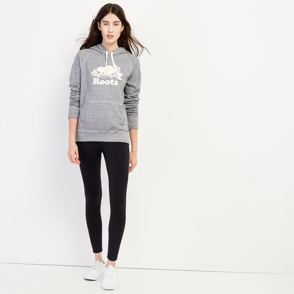 Roots-Women Clothing-Roots Salt and Pepper Original Kanga Hoody-Salt & Pepper-B
