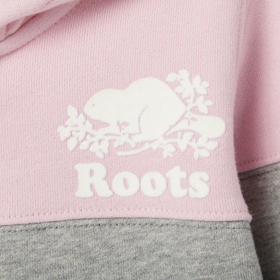 Roots-Kids Our Favourite New Arrivals-Toddler Colour Block Full Zip Hoody-Pink Mist-C