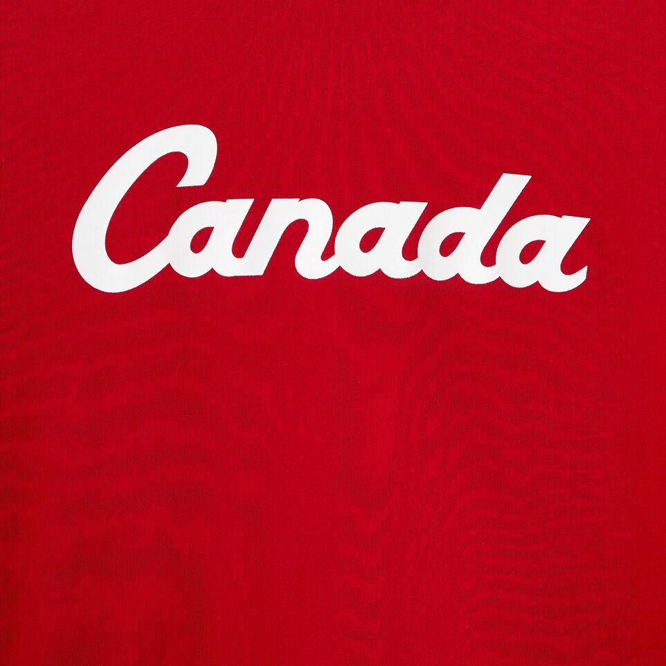 Roots-New For August Canada Collection By Roots™-Womens Canada T-shirt-Sage Red-D