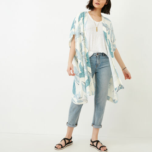 Roots-Women Scarves & Wraps-Clearwater Kimono-Multi-A