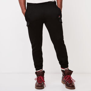 Roots-Sale Men-Sachs Utility Sweatpant-Black-A