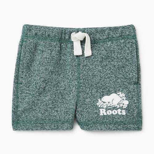 Roots-Kids Bottoms-Baby Original Short-Hunter Green Pepper-A